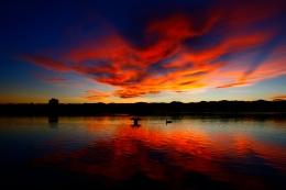 Sloan Lake Sunset